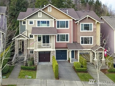 North Bend, Snoqualmie Condo/Townhouse For Sale: 9115 Merritt Ave SE