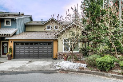 Issaquah Condo/Townhouse For Sale: 54 Cougar Ridge Rd NW #2204