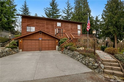 Skagit County Single Family Home For Sale: 19514 Ridgewood Dr