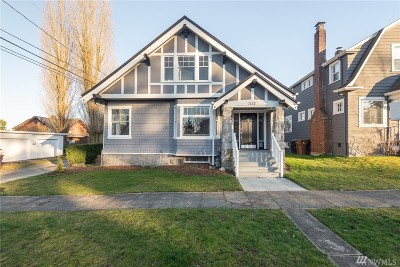 Tacoma Single Family Home For Sale: 1112 N 10th St