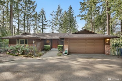 Pierce County Single Family Home For Sale: 9142 28th Av Ct NW