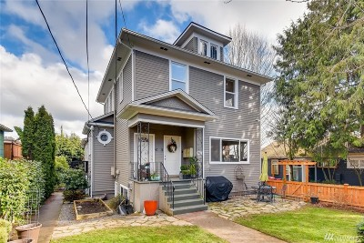 Seattle Condo/Townhouse Sold: 3624 Whitman Ave N #4