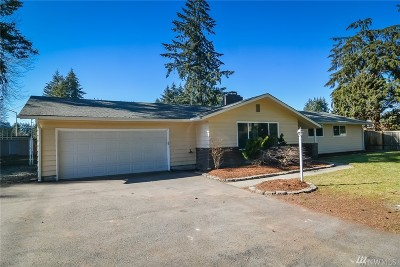 Olympia Single Family Home For Sale: 2920 70th Ave SW