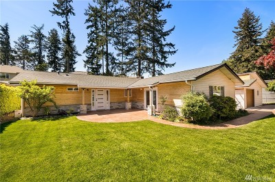 Newcastle Single Family Home For Sale: 8631 118th Ave SE
