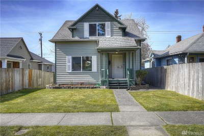Tacoma Single Family Home For Sale: 1708 S Fife St