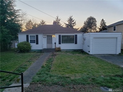 SeaTac Single Family Home For Sale: 16829 37th Ave S