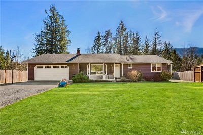 North Bend, Snoqualmie Single Family Home For Sale: 13634 439th Ave SE