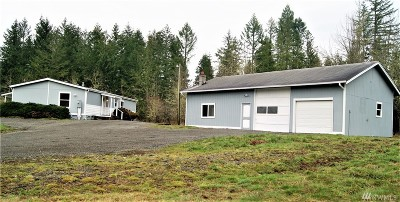 Yelm Single Family Home For Sale: 14344 Solberg Rd SE