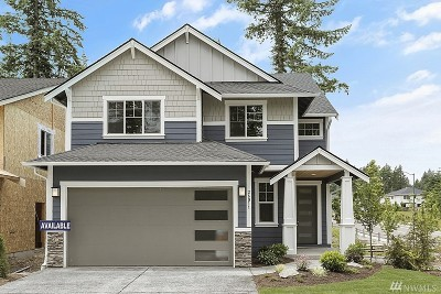Maple Valley Single Family Home For Sale: 26011 242nd Place SE #Lot 1