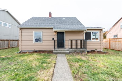 Tacoma Single Family Home For Sale: 4322 S Lawrence St