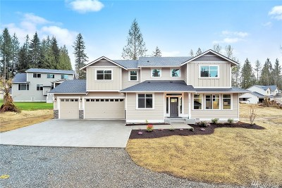 Snohomish Single Family Home For Sale: 17026 62nd St SE