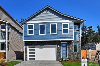 Edmonds Single Family Home For Sale: 22017 86th Park W #4