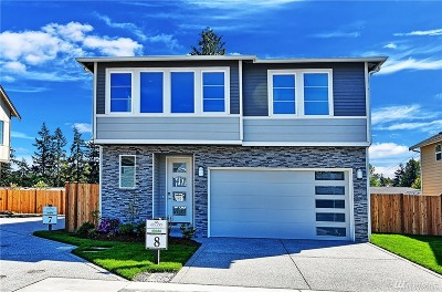 Edmonds Single Family Home For Sale: 22031 86th Park W #8