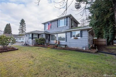 Blaine Single Family Home For Sale: 1540 Bayview Ave