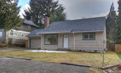 Olympia Single Family Home For Sale: 1635 Miller Ave NE