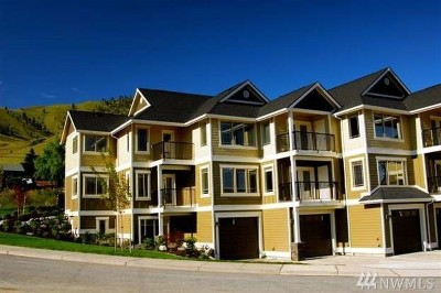 Chelan Condo/Townhouse For Sale: 230 E Farnham N #C4