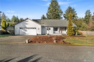 Olympia Single Family Home Pending: 6227 Hickory Ct SE