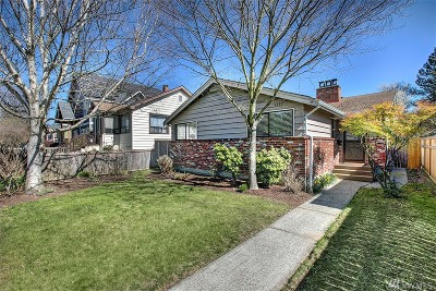 Seattle Single Family Home For Sale: 4742 49th Ave SW