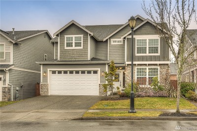 Lacey Single Family Home Pending Inspection: 4434 Logan Dr NE