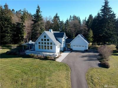 Hansville Single Family Home Pending Inspection: 37822 Hillview Lane NE