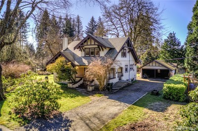 Olympia Single Family Home Pending Inspection: 3811 Pifer Rd SE