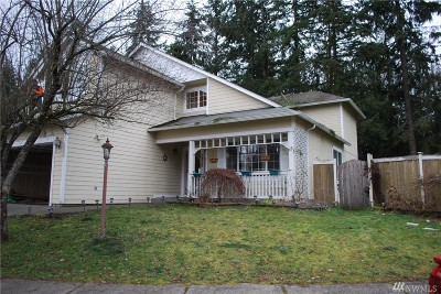Spanaway Single Family Home For Sale: 5808 204th St Ct E