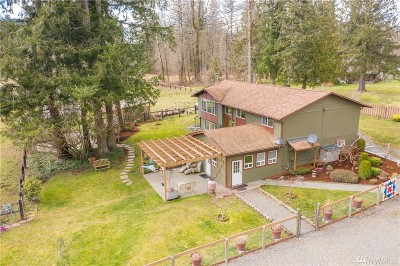 Enumclaw Single Family Home For Sale: 38125 303rd Ave SE