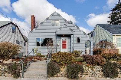 Seattle Single Family Home For Sale: 5912 S Carver St