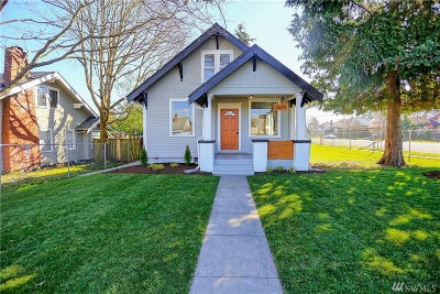 Tacoma Single Family Home For Sale: 3639 S Sheridan Ave