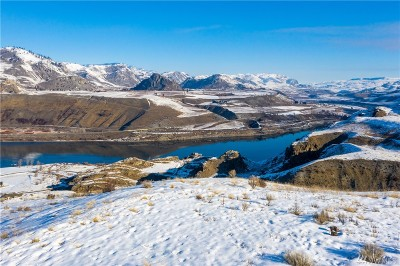 Chelan, Chelan Falls, Entiat, Manson, Brewster, Bridgeport, Orondo Residential Lots & Land For Sale: 163 Ridge Rd