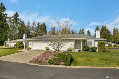 Gig Harbor Condo/Townhouse Pending: 3307 44th St Ct NW #11-A