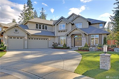 Sammamish Single Family Home Contingent: 20911 SE 8th Place