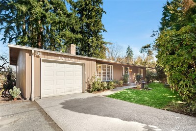 Bellevue Single Family Home For Sale: 16314 SE 40th St