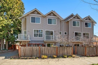 Seattle Single Family Home For Sale: 1540 15th Ave S #C