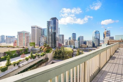 Seattle Condo/Townhouse For Sale: 1400 Hubbell Place #1311