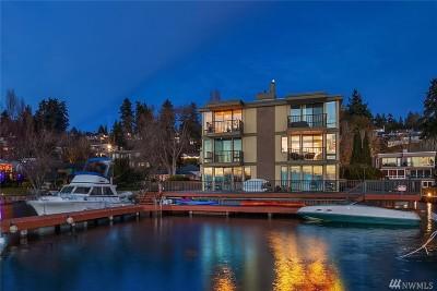 Kirkland Condo/Townhouse For Sale: 4561 Lake Washington Blvd NE #102
