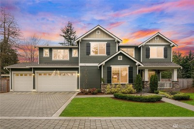 Kirkland Single Family Home For Sale: 8714 124th Ave NE