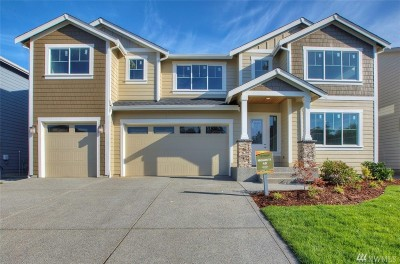 Puyallup Single Family Home Contingent: 12717 173rd St Ct E