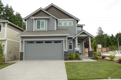 Tumwater Single Family Home For Sale: 6214 Courtyard Lane SW #Lot 2