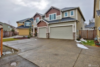 Puyallup Single Family Home For Sale: 7822 164th St E