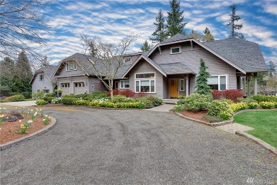 Bainbridge Island Single Family Home For Sale: 8000 Hansen Rd NE