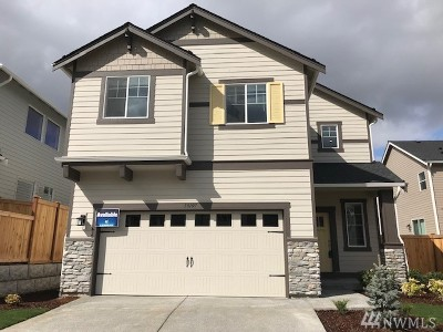 Lake Stevens Single Family Home Contingent: 10107 14th Place SE #20