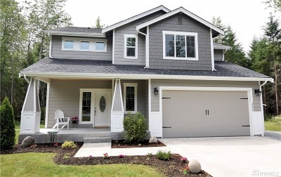 Yelm Single Family Home Contingent: 14229 Rainier View Dr SE