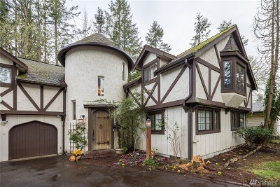 Tacoma Single Family Home For Sale: 9709 Willowood Place SW