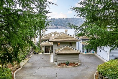 Redmond Single Family Home Contingent: 2412 West Lake Sammamish Pkwy NE