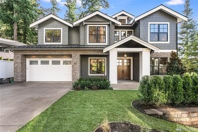 Bellevue Single Family Home For Sale: 22 Enatai Dr