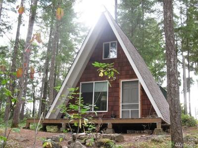 Mason County Single Family Home Pending: 81 E Peaceful Place