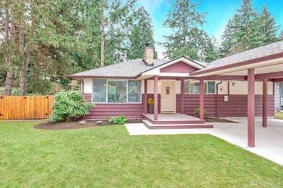 Bothell Single Family Home For Sale: 17811 93rd Place NE