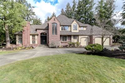 Sammamish Single Family Home For Sale: 25916 SE 34th St