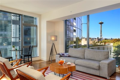 Condo/Townhouse Sold: 820 Blanchard St #808